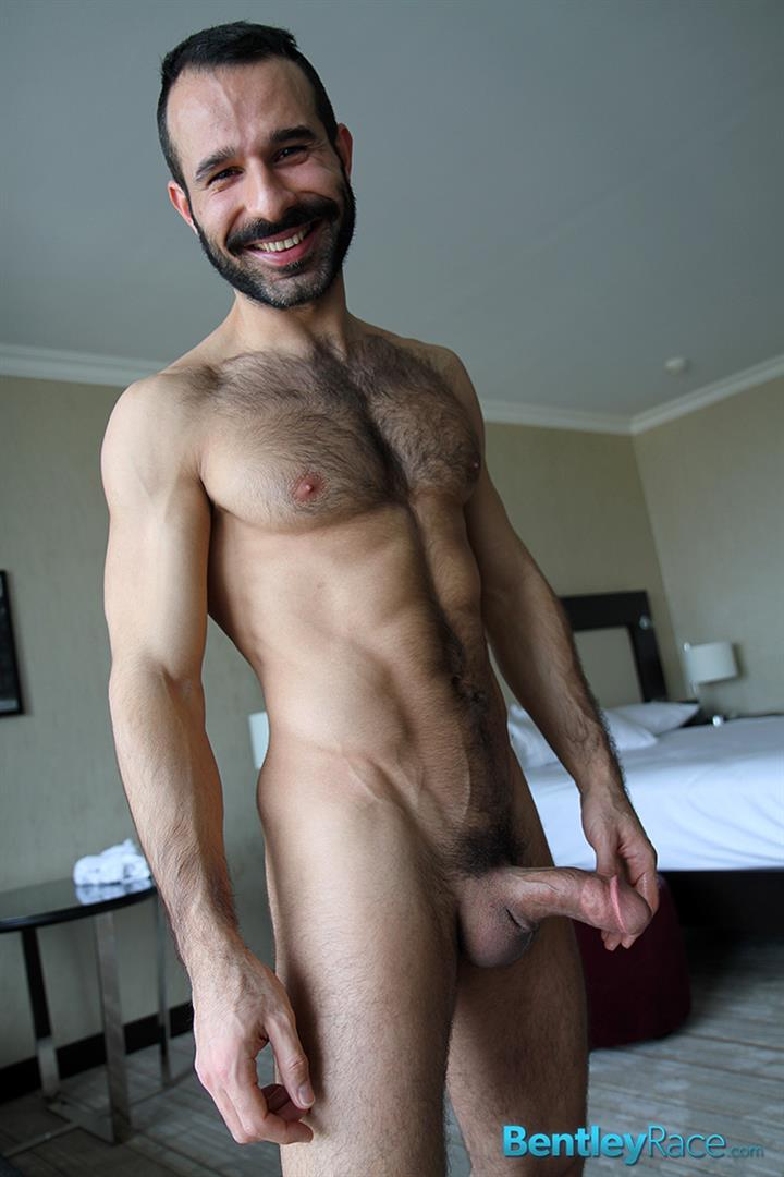 Bentley-Race-Aybars-Arab-Turkish-Guys-With-A-Thick-Cock-Masturbating-Amateur-Gay-Porn-24 Hung Turkish Guy Getting Blown and Jerking Off His Thick Hairy Cock