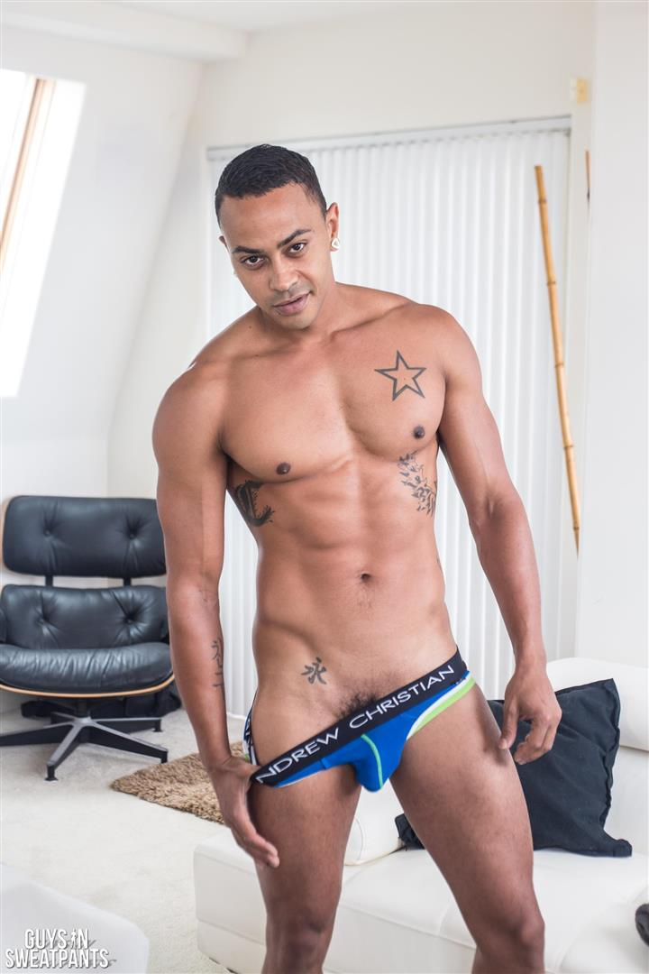 Guys-In-Sweat-Pants-Cameron-Jakob-and-Dillon-Hays-Interracial-Bareback-Breeding-Amateur-Gay-Porn-01 Versatile Hung Black Guy Fucks A White Boy With A Huge Uncut Cock
