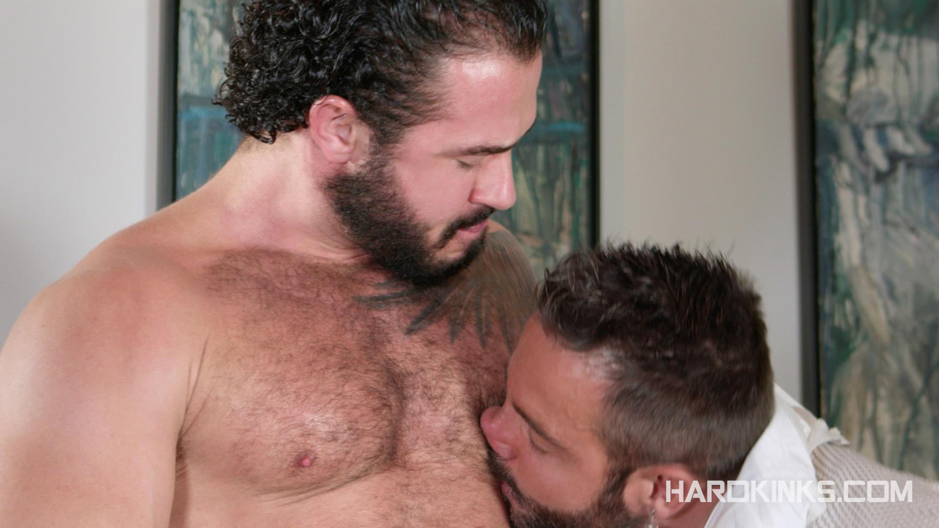 Hardkinks-Jessy-Ares-and-Martin-Mazza-Hairy-Alpha-Male-Amateur-Gay-Porn-06 Hairy Muscle Alpha Male Dominates His Coworker